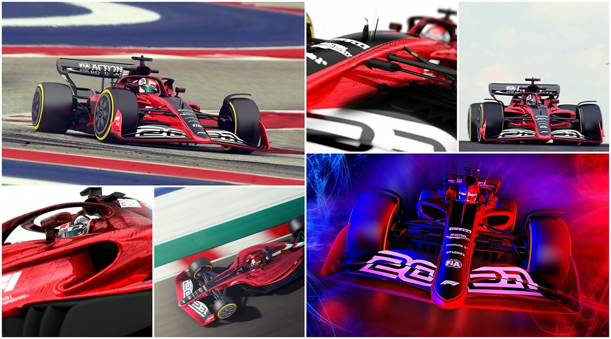 F1 2021 new look