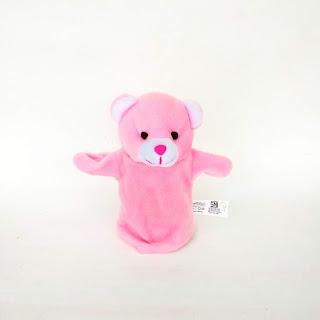 Boneka Tangan Hewan Beruang Animal Hand Puppets