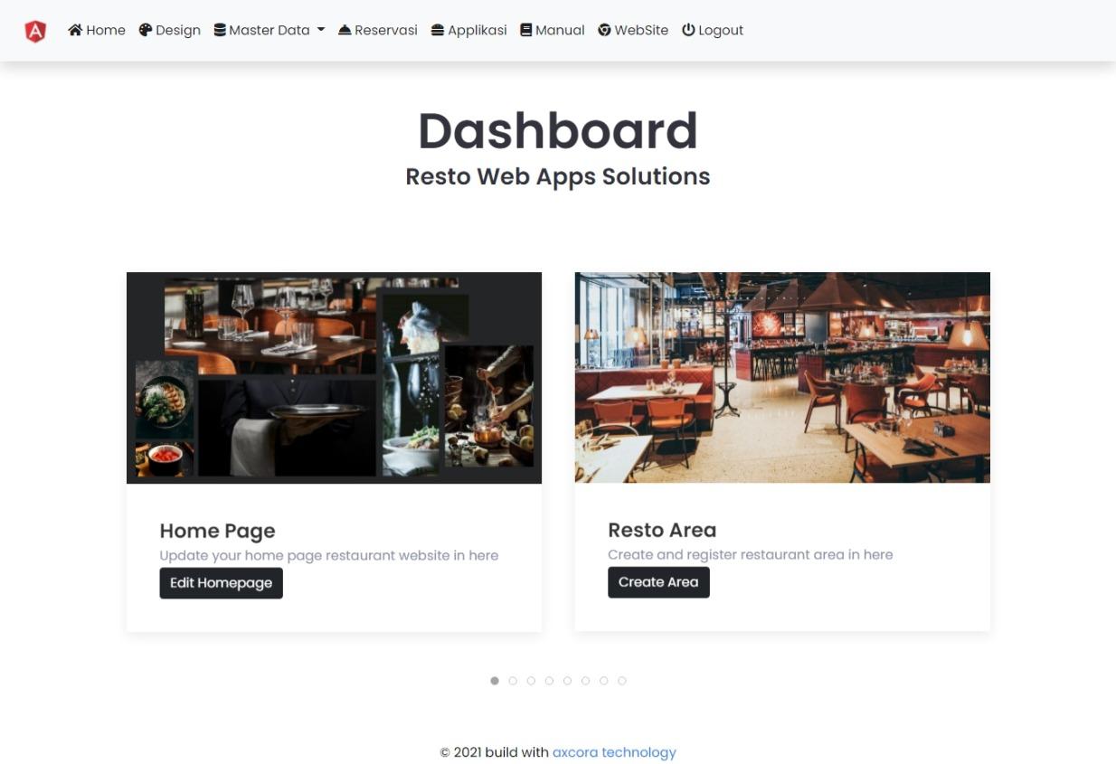 aplikasi website restoran reservasi online