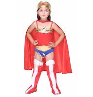 halloween wonder woman costume for girls