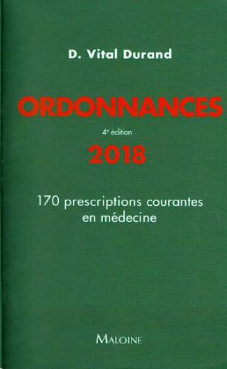 """ordonnances """"170 prescriptions courantes en médecine"""""""
