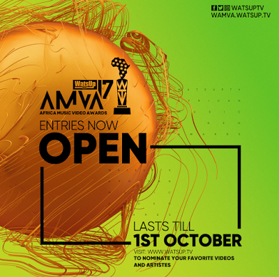 Nomination opens For 2017 WatsUp TV Africa Music Video Awards