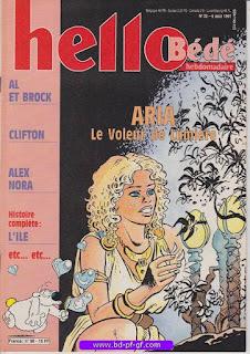 Hello-Bébé, numéro 33, 1991, Aria, le voleur de lumière