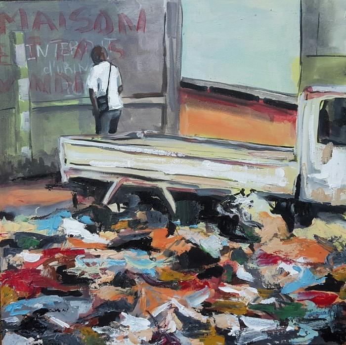 Камерунский художник