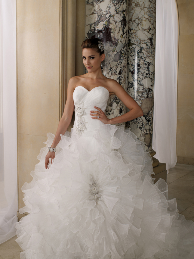 david tutera spring summer 2012 bridal collection my dress of the week belle the magazine. Black Bedroom Furniture Sets. Home Design Ideas