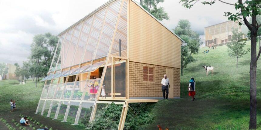 Colombia, presentan un prototipo de vivienda rural sostenible y productiva