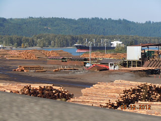 columbia river logging industry