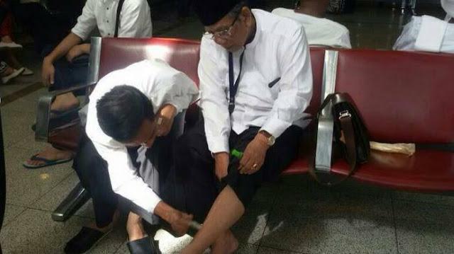 Jokowi: Selamat Jalan, Kiai Hasyim...