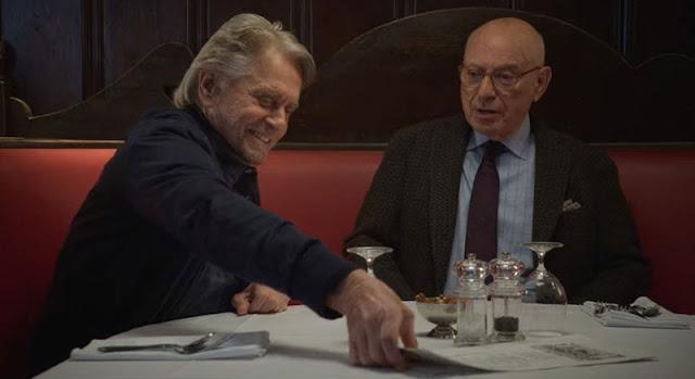 Michael Douglas y Alan Arkin en la segunda temporada de 'El método Kominsky'