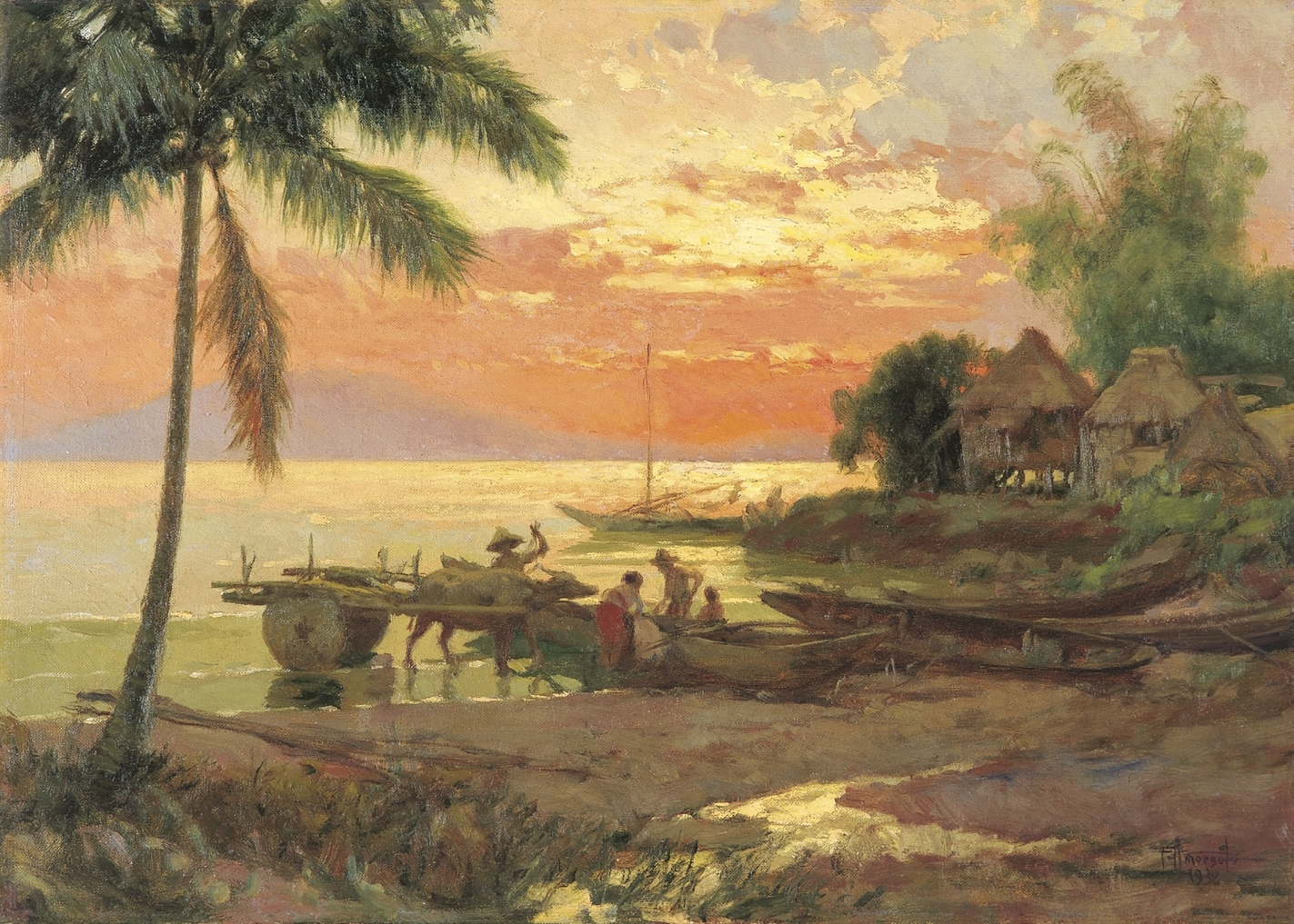 a summary of fernando amorsolos story burning of the idols Baptism of fire ( polish original plot summary the story in time of contempt begins where the previous book left off fernando amorsolo topic.