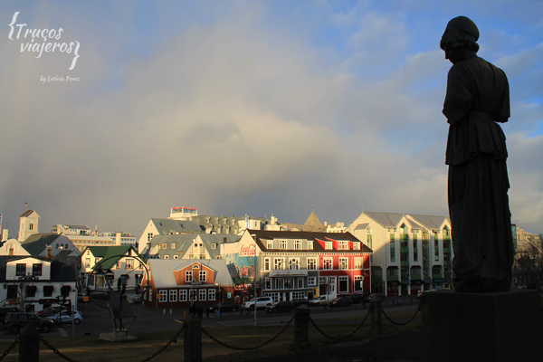 vistas de Reykjavik