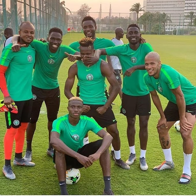 LagbajaSports || Super Eagles In High Spirit After Training [AFCON2019]