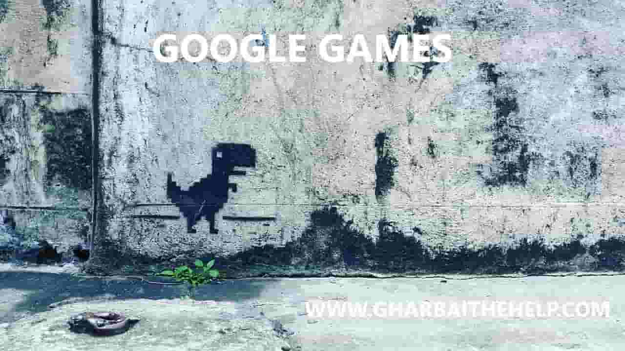 How to play all google  games online free