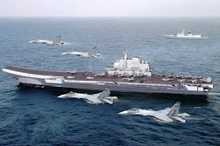 Hubungan Makin Memanas dengan Amerika, Kapal Induk China Gelar Latihan Militer di Kawasan Pasifik Barat - Commando