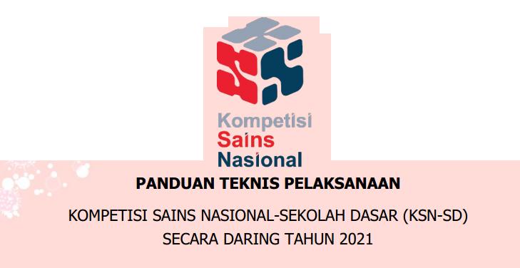 Juknis dan Silabus KSN SD Tahun 2021 Secara Daring