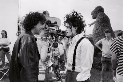 Tim Burton en 'Eduardo Manostijeras'