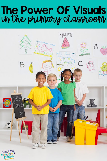 Learn how to use visual supports to help your kindergarten students to be more independent in the classroom and improve your classroom management