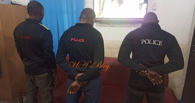 Police Arrest And Parade Officers For Assaulting Man For Refusing To Unlock His Phone In Enugu