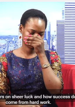 Olajumoke Orisaguna Fights Tears As She Recounts How 2016 Changed Her Life (Video)