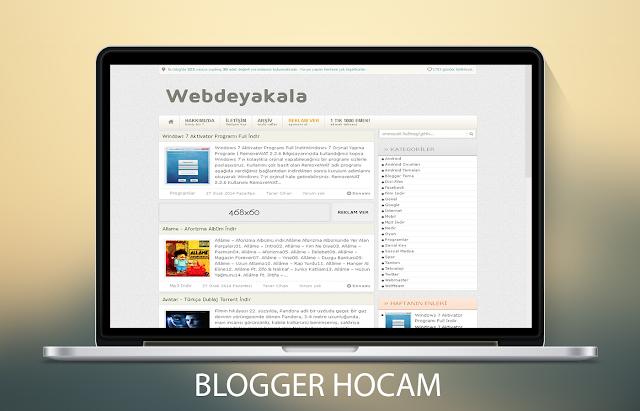 Blogger Helix Edit Teması