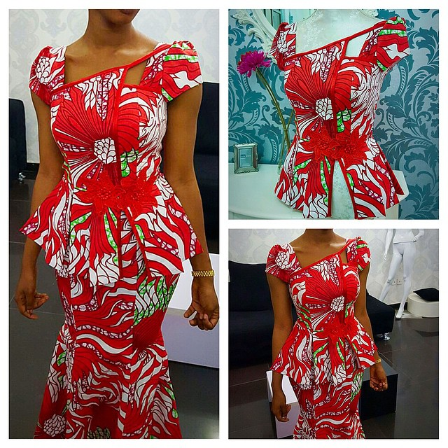 Check Out The Most Recent Skirt And Blouse Ankara Styles