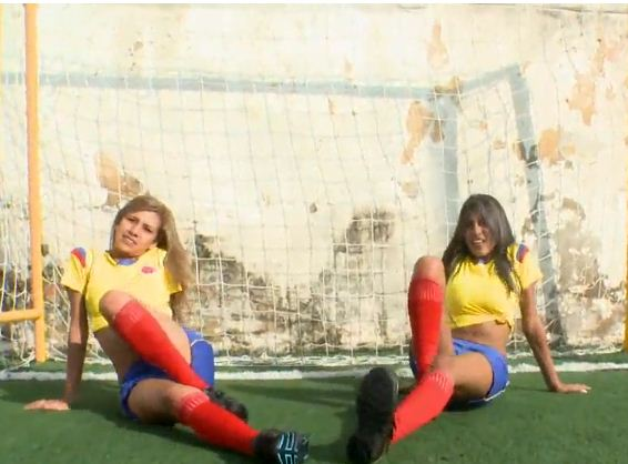 a Seleccion Colombia femenina video xxx