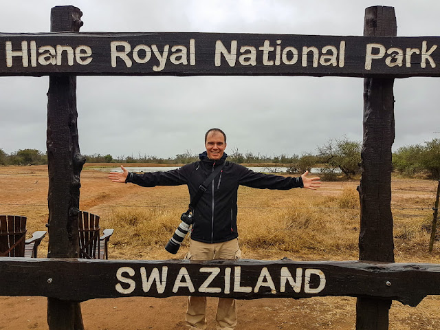 Cartel Parque Hlane, Suazilandia