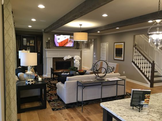 LIVING_IN_THE_513: A new model home
