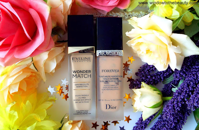 Eveline Wonder Match Skin Absolute Perfection Foundation vs dior