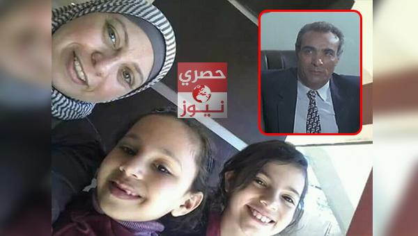حفيدتي الفنان المرسي ابو العباس ووالدتهما
