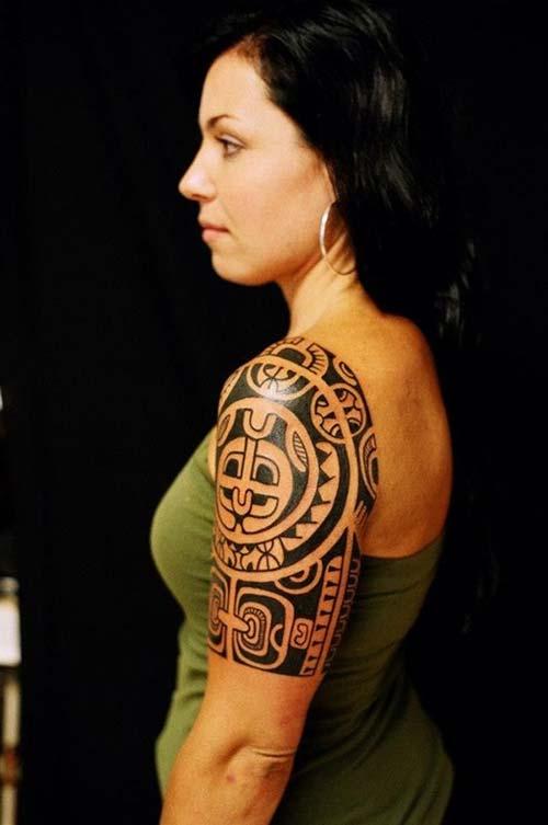 kadın maori tribal dövmeleri woman maori tribal tattoos 6