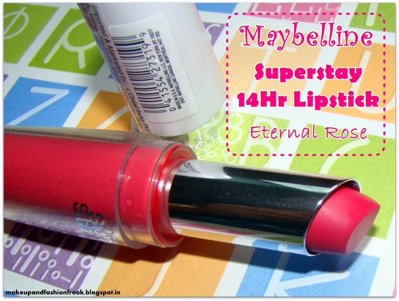 Maybelline Super Stay 14 Hour Lipstick Eternal Rose |Maybelline Eternal Rose