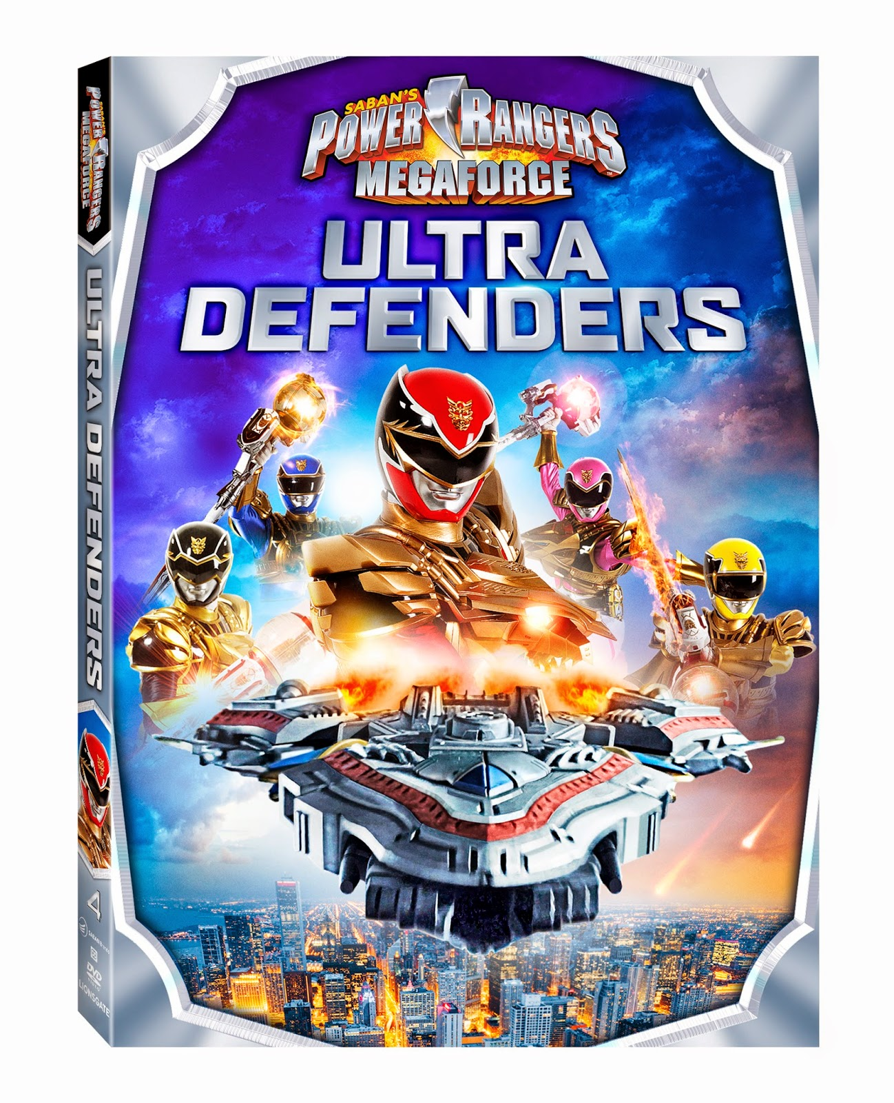 DVD Review - Power Rangers Megaforce: Ultimate Defenders