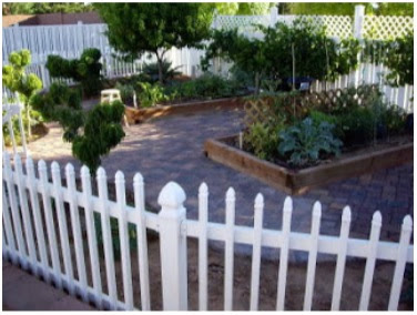 Surround your garden with fencing
