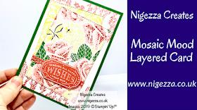 Nigezza Creates, Stampin' Up! Mosaic Mood