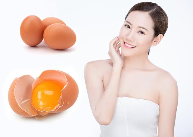 Nâng cơ da mặt chỉ vời lòng trắng trứng