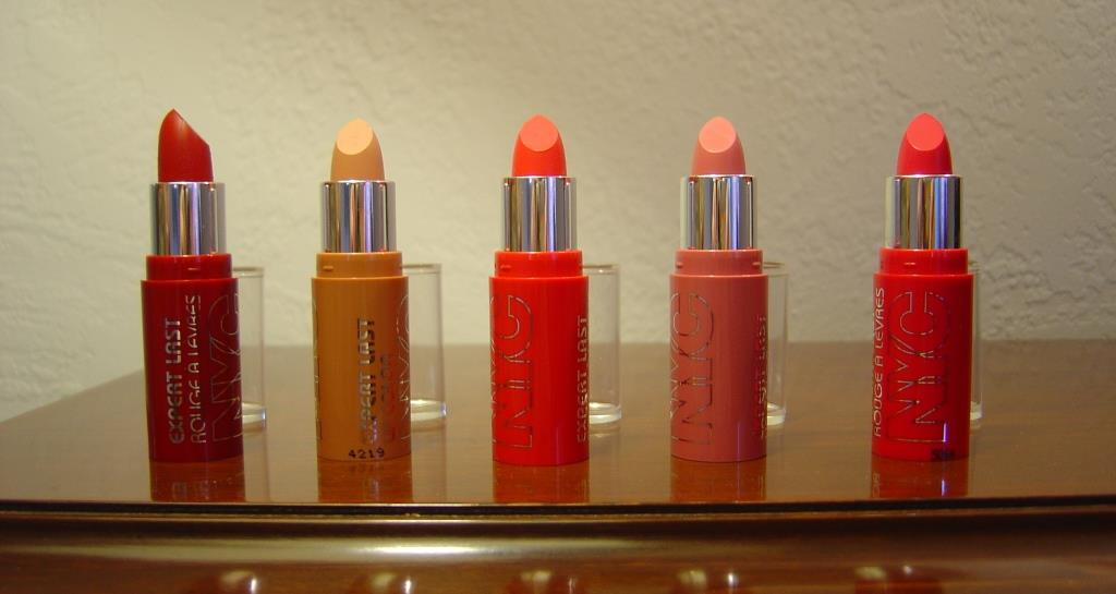NYC New York Color Expert Last Matte Lip Color LIne