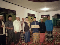 Caleg Dapil 3 Berikan Bantuan Mesjid Jami Al-Karsiah Cimande