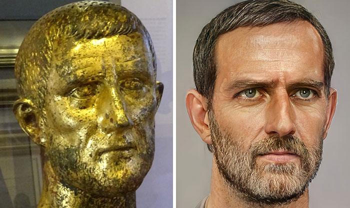 Artista usa IA e Photoshop e mostra como os imperadores romanos eram na vida real
