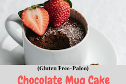 Chocolate Mug Cake (Gluten Free-Paleo)