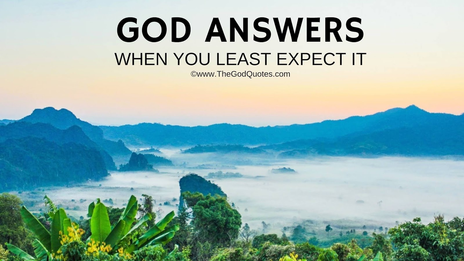 Short Inspirational Quotes About God