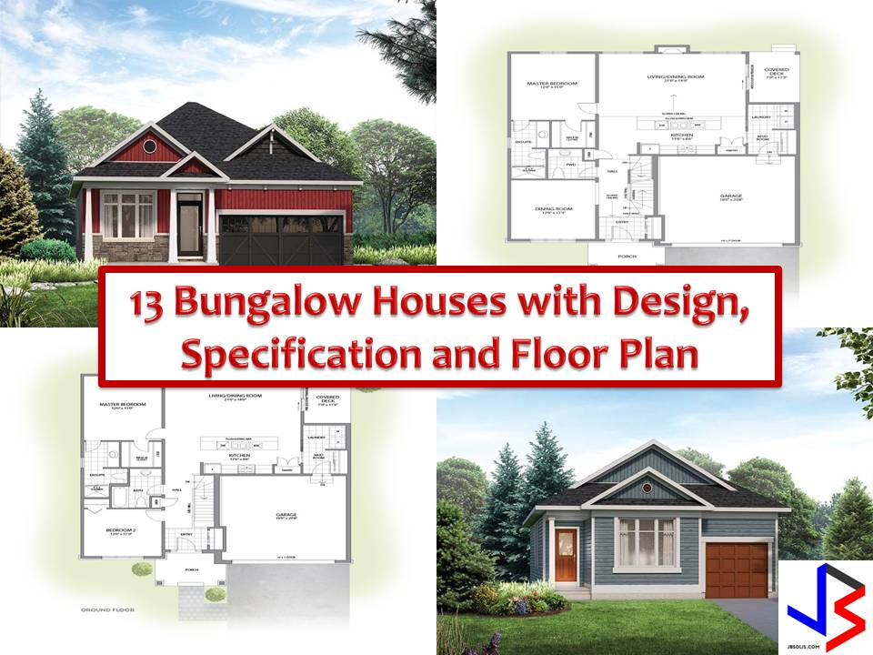 Here Are Some Designs Of Bungalow Houses From The Website Eqhomes.ca That  Filipinos Can