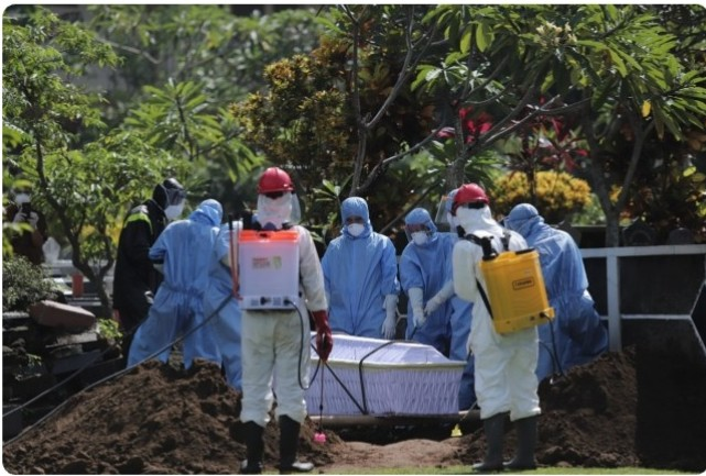 Pahala Mati Syahid Bagi Muslim yang Terkena Wabah Corona
