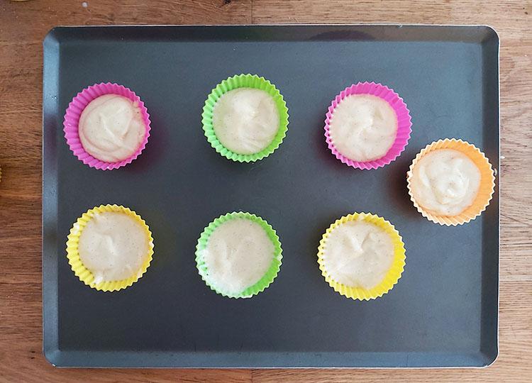 Caissettes à cupcakes remplies