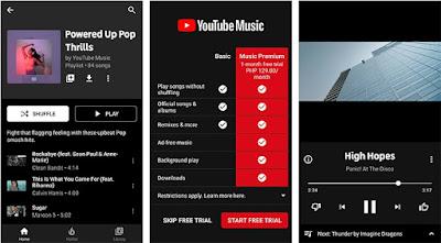 YouTube Music Premium Screenshot