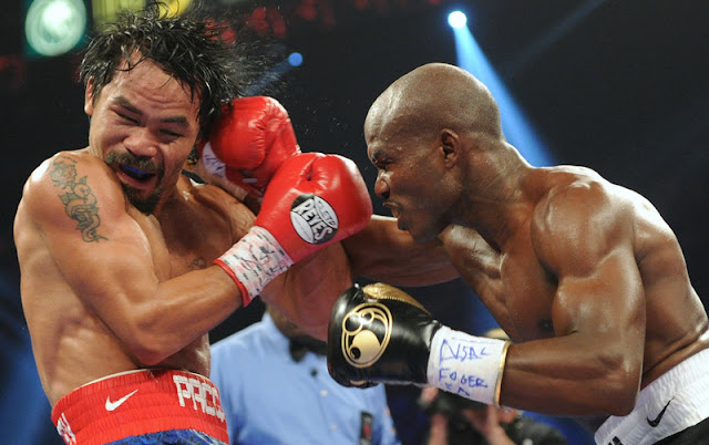 Manny Pacquiao Wins The Third Match Against Bradly By A Unanimous Decision
