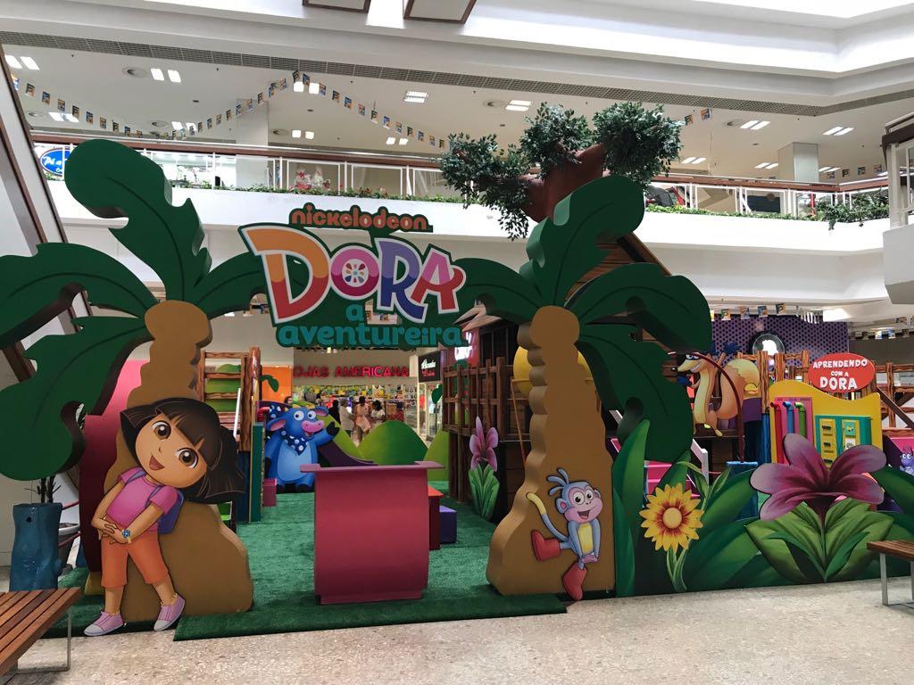 f1f662eb9c9 Shopping Piedade recebe a atração Dora