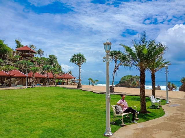 Pantai ngrawe Gunung Kidul Terbaru
