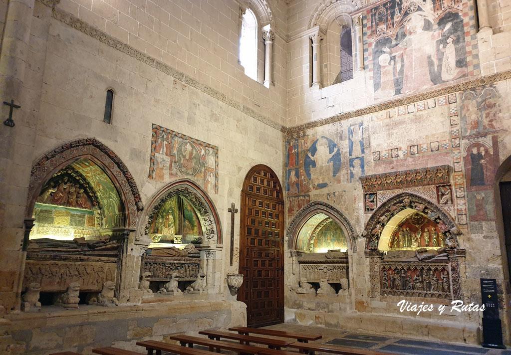 Brazo del crucero de la de Catedral Vieja de Salamanca