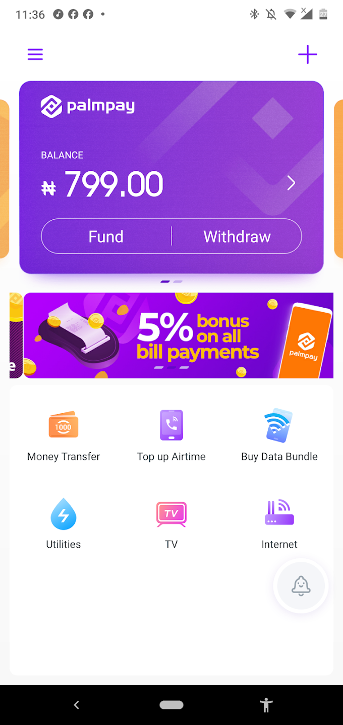 Make money with Palmpay App